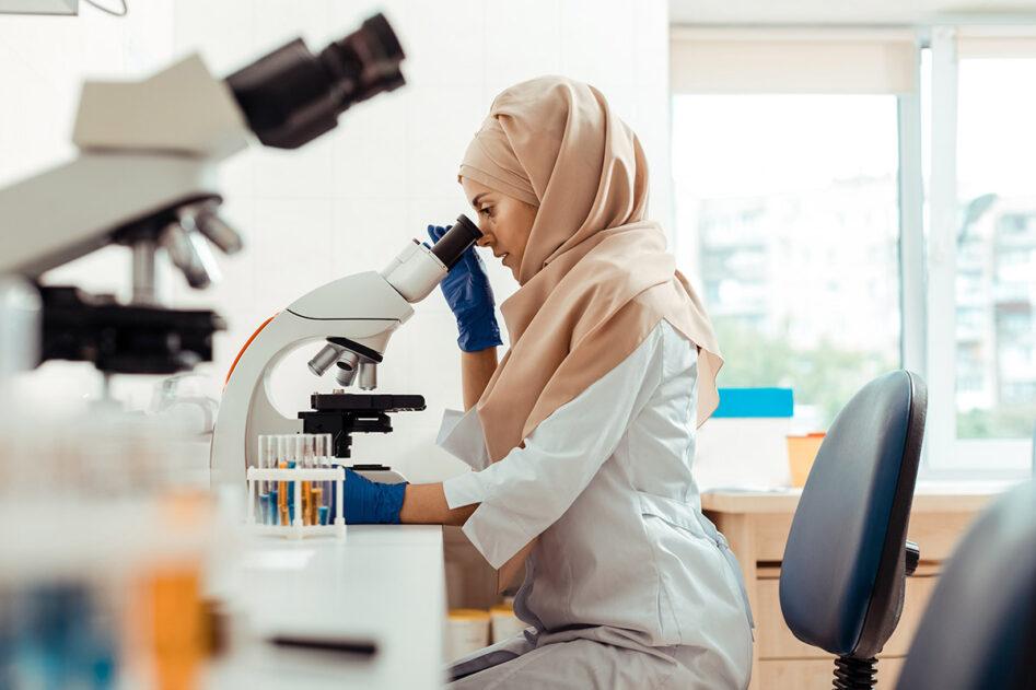 Muslim researcher